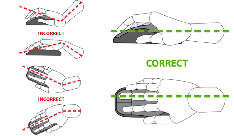 Mouse Wrist Position