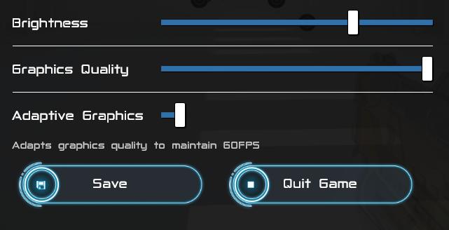 Graphics Quality Controls
