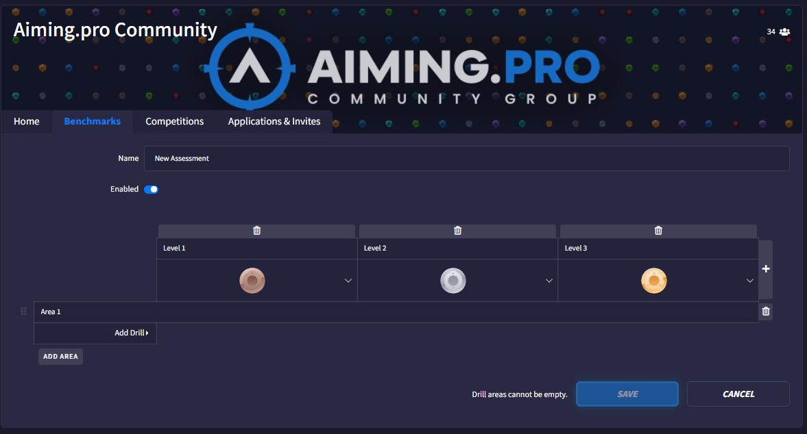 Community new Benchmarks